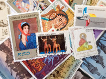 Vintage stamps Stock Images