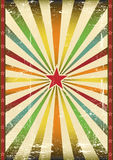 Vintage star background Royalty Free Stock Photography