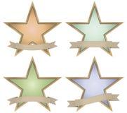 Vintage star badge Royalty Free Stock Photo