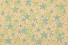 Vintage stars on paperbox background. Many vintage stars on paperbox background Stock Photos