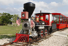 Free Vintage Steam American Locomotive Train Stock Photography - 14986132