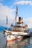Vintage steam boat Stock Image