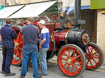Vintage Steam Engine. Royalty Free Stock Photos