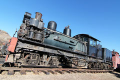 Vintage Steam Engine Stock Photography
