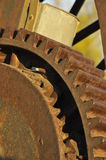 Vintage Steam Engine Gear 2. Vintage Steam Engine Gear to Transfer Borax from Mines in Death Valley, California Stock Image