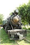 Vintage Steam Engine stock image