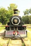 Vintage Steam Engine stock photo
