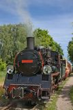 Vintage steam engine train Royalty Free Stock Images