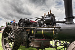 Vintage steam engine at TruckFest 2017 Royalty Free Stock Image
