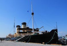 VINTAGE STEAM ICEBREAKER Royalty Free Stock Photography
