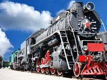 Vintage steam locomotive Royalty Free Stock Photos
