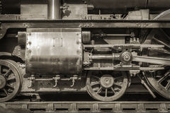 Vintage Steam Locomotive Royalty Free Stock Photography