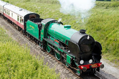 Vintage steam locomotive Royalty Free Stock Photos