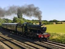 Vintage Steam Locomotive Stock Images