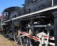 Vintage Steam Locomotive Stock Photography