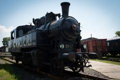 Vintage steam locomotive Royalty Free Stock Photo
