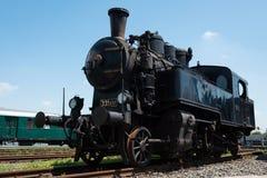 Vintage steam locomotive Stock Image