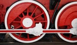 Vintage steam locomotive Stock Photo