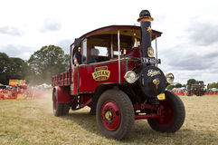 Vintage Steam lorry Stock Image
