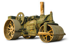 Free Vintage Steam Roller Royalty Free Stock Photos - 4245058