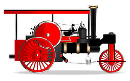 Vintage Steam Roller Royalty Free Stock Photography