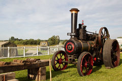 Vintage steam traction engine Stock Photography