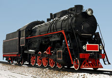 Vintage steam train Stock Images