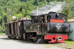 Vintage steam train locomotive Stock Images