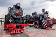 Vintage steam train Royalty Free Stock Photos