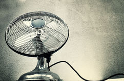 Vintage steel fan Stock Photography