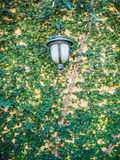 Vintage steel lamp Stock Photography