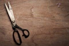 Vintage steel scissors Stock Images