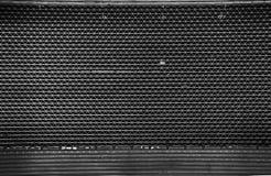 Vintage Steel shutter door or garage dark key Royalty Free Stock Photo