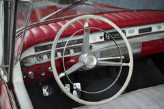 Vintage steering Royalty Free Stock Photography