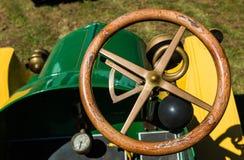 Vintage Steering Wheel Stock Image
