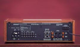 Vintage Stereo Radio Receiver Stock Photos