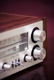 Vintage Stereo Radio Receiver Stock Photos