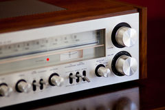 Vintage Stereo Radio Receiver Royalty Free Stock Photography