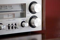 Vintage Stereo Radio Receiver Royalty Free Stock Photos