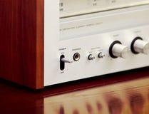 Vintage Stereo Radio Receiver Stock Image