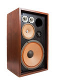 A vintage Stereo Speaker Royalty Free Stock Photography