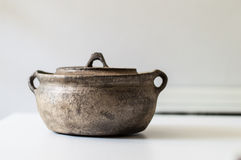 Vintage Stew Pot Image stock
