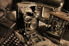 Vintage still-life Stock Images