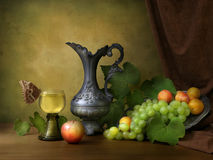 Vintage still life with fruit Stock Photography