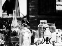 Vintage still life - a market in Hungary stock images
