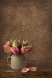 Vintage still life with roses Royalty Free Stock Image