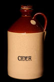 Vintage stone cider jug Royalty Free Stock Photo
