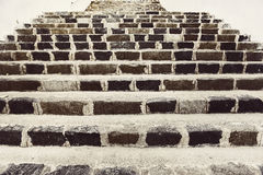 Vintage stone steps Royalty Free Stock Photo