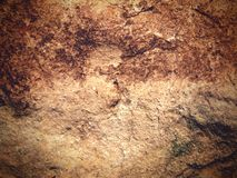 Vintage Stone Texture. Macro shot of stone texture with slightly faded, vintage feel Stock Image