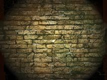 Vintage stone wall. Old stone wall, cracked and dirty; vintage grunge background Stock Photo